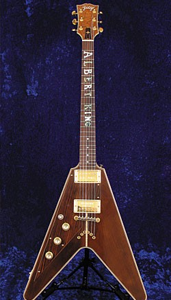 A Lucy guitar built by Erlewine in 2006.
