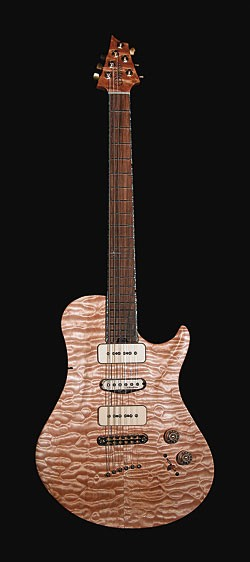 Rick Derringer signature Warrior guitar