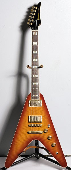 1982 Ibanez Rocket Roll II in Cherry Sunburst