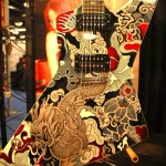XPlorer model at the GMP Guitars booth