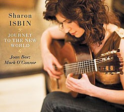 Sharon Isbin's latest CD is Journey to the New World.