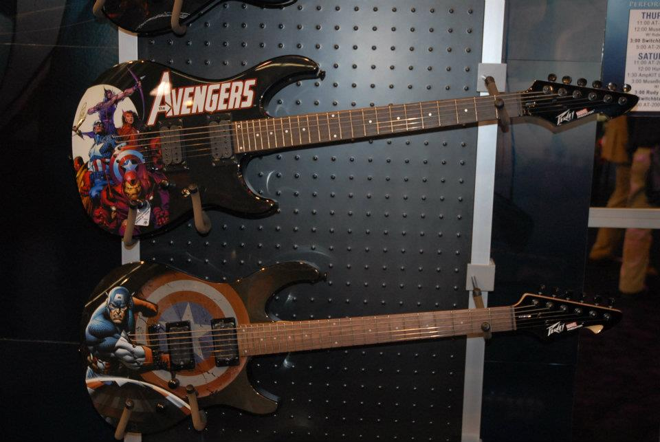 Peavey Marvel Comics series