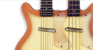 Danelectro's Four-String Basses