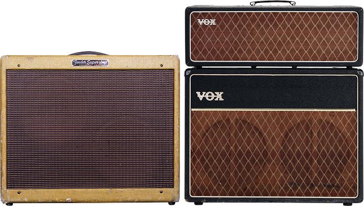 Five Classic Amps