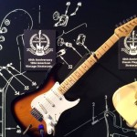The 60th Anniversary Strat, in the Fender Guitar booth.