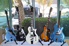 The new Supro guitar line was a big hit.