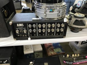 A rare PA head from the short lived 1970s AIMS amp company