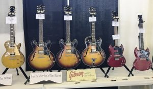 A sample of Tom Wittrock's Gibson collection