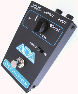 ADA Amps Definition pedal