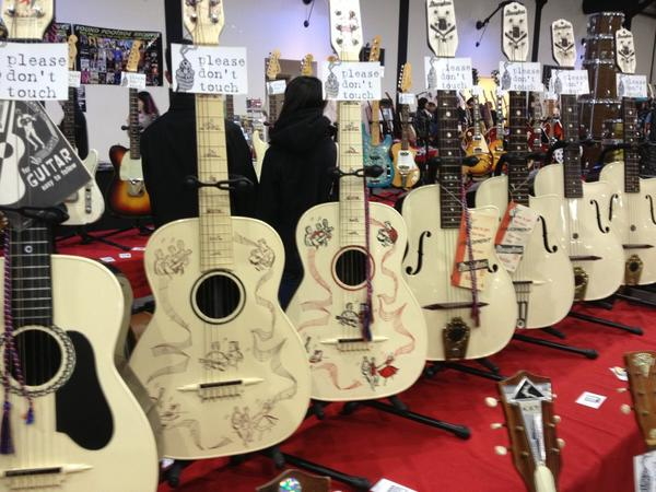 Also, during NAMM weekend, the SoCal World Guitar Show.