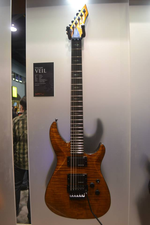 The Villain Veil, from B.C. Rich.