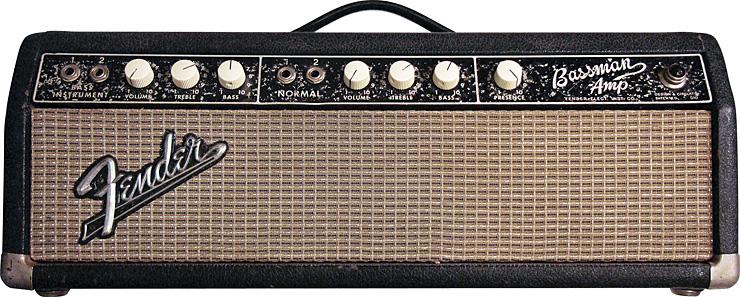 FRONT The 1964 Fender Bassman