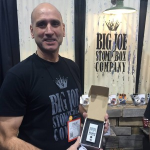 Big Joe Stomp Box is changing the game with its new lithium smart battery for your pedal board. It comes complete with USB port and countdown features!