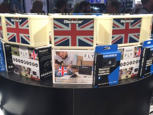 Staying true to the company's roots, Blackstar launched the Union Jack Fly 3 mini amp at#NAMM2016. What do you think of this 3-watt amp?
