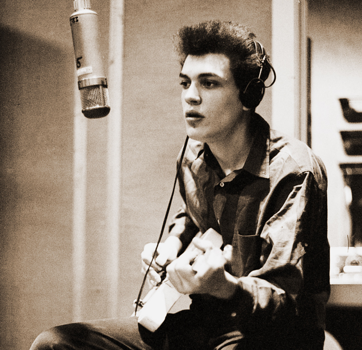 Mike Bloomfield, 1965. Mike Bloomfield: Sony Archives.
