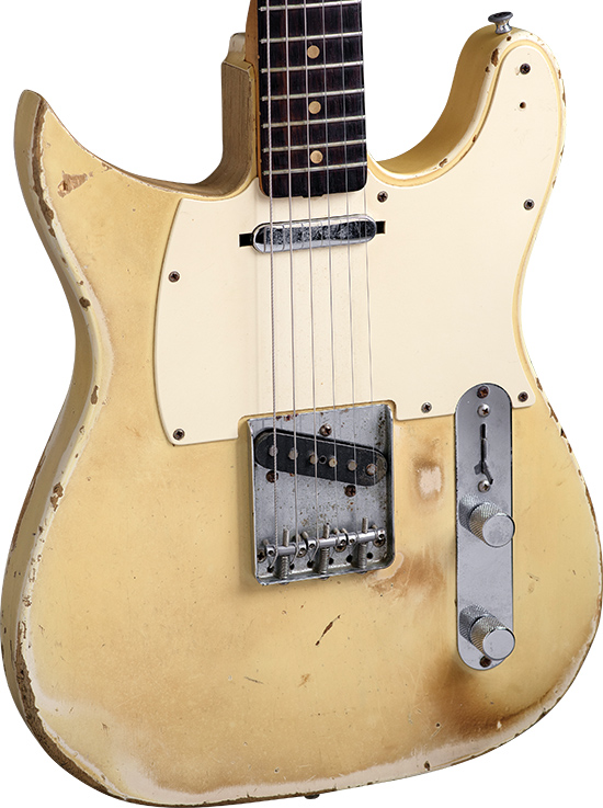 Michael Bloomfield's '63 Telecaster