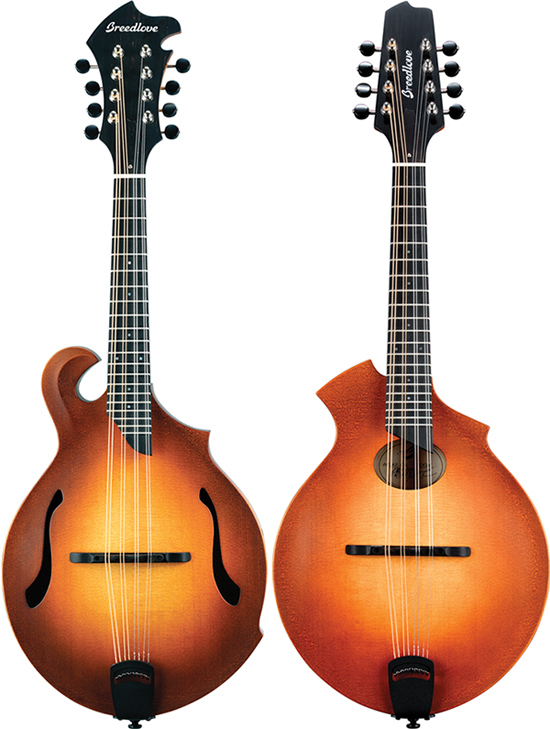 Breedlove FF and KO Mandolins