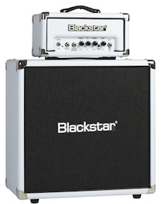 Blackstar offers HT amps in Arctic White.