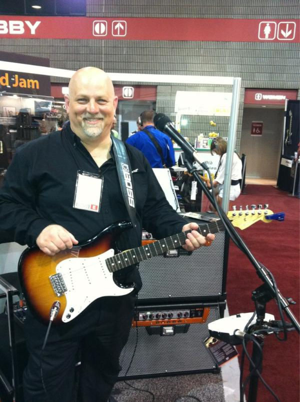 Bob Bailey of Roland demos the new GA series amps