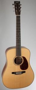Bourgeois offers LaMontagne signature guitar.