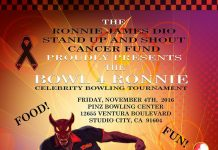 Bowl For Ronnie James Dio Foundation Benefit 2016
