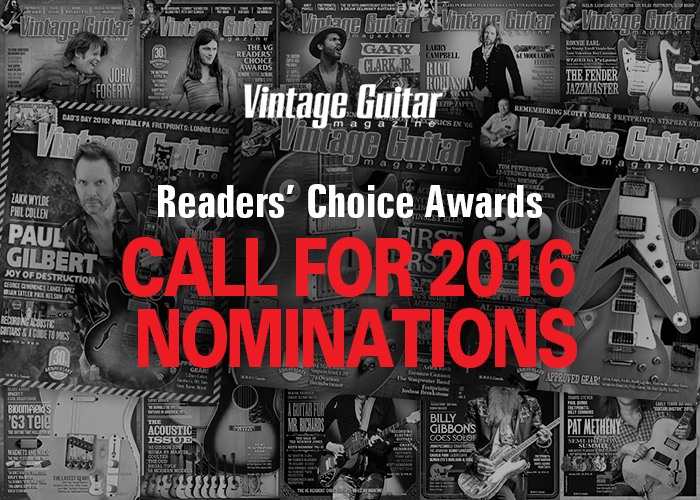 Call for 2016 Readers' Choice Awards Nominations