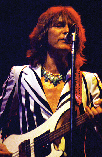 Chris Squire: Rick Dikeman.