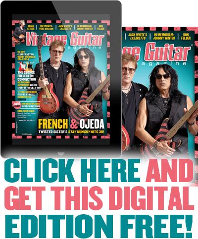 Vintage Guitar magazine Free digital Issue October 2014