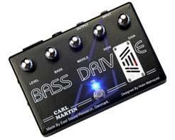 Carl Martin introduces BassDrive pedal