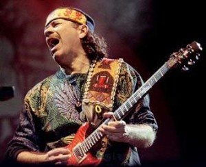 "Carlos Santana slates ""homecoming"" Performance."