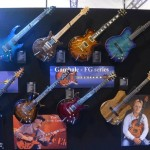 Carvin brought the big guns to NAMM.