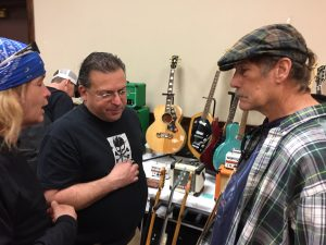 Casey Michaels and Kid Comet discuss the merits of The Gibson J-200 over the Vox Phantom.