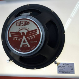 Clean players will love the Celestion Speakers A-Type for its take on modern, American tone. #vintageguitar #NAMMshow #NAMM2015 #guitarlove #guitargear — in Anaheim, California.