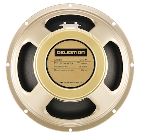 Celestion introduces G12H 75 Creamback.