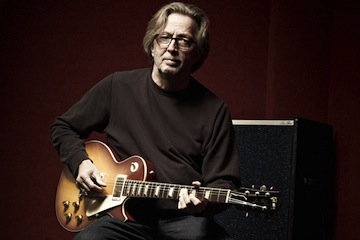 Clapton releasing book on his guitars, amps.