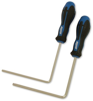 Cruztools Soundhole wrenches