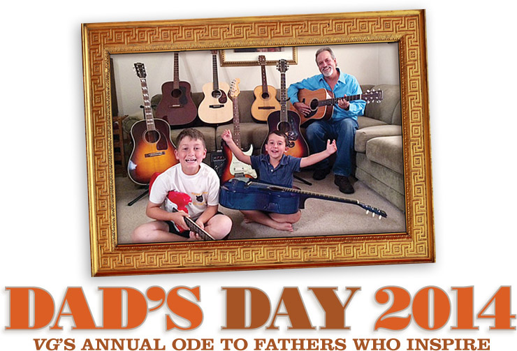Dads Day Vintage Guitar magazine