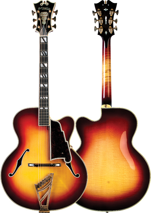 The '59 D'Angelico Excel Special that once belonged to Homer Haynes.