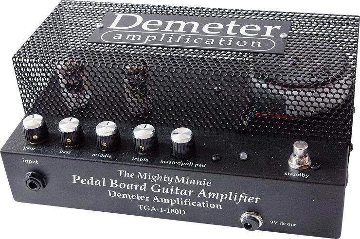 Demeter Mighty Minnie Pedalboard Amplifier