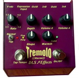 DLS Effects adds TR1 Stereo Tremolo.