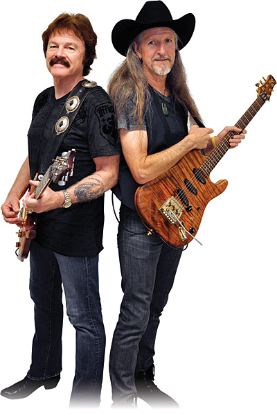 Tom Johnston and Patrick Simmons