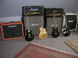 Les Pauls & Marshalls
