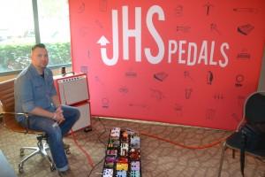 John Pennington of JHS Pedals.