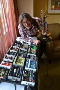 Jon Skibic Lead Demonstrator of Electro-Harmonix.