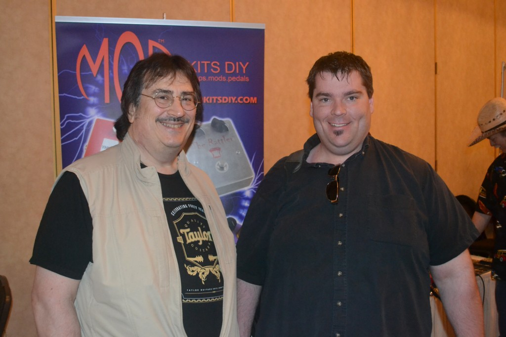 Jeff Floro (left) and Scott Sill, of The Flo Guitar Enthusiasts Radio Show.