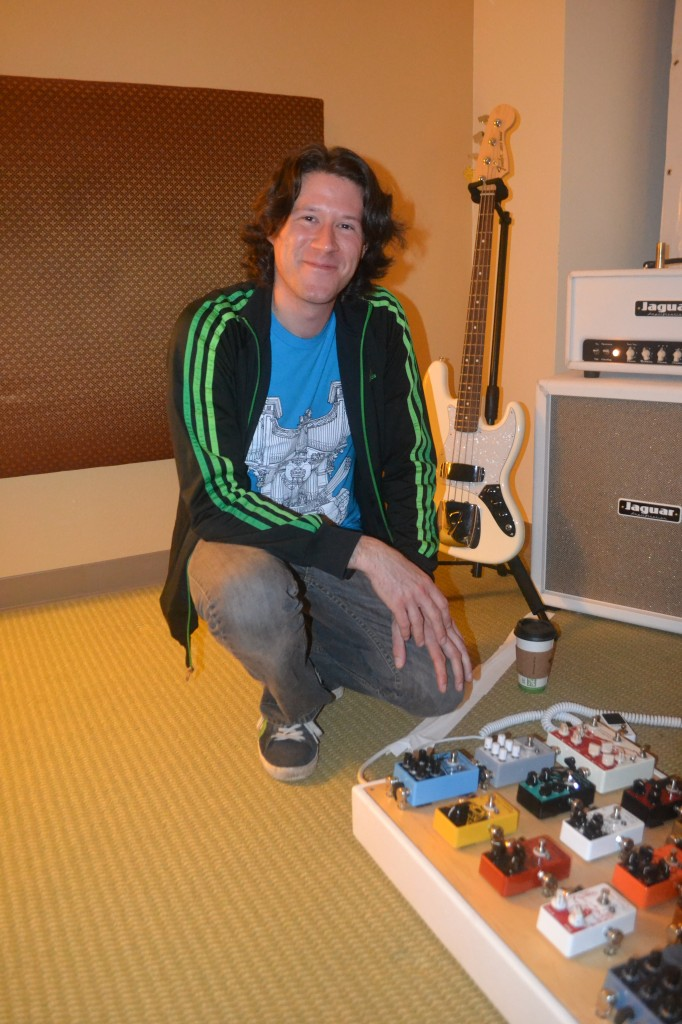 Joe Golden, of EarthQuaker Devices.