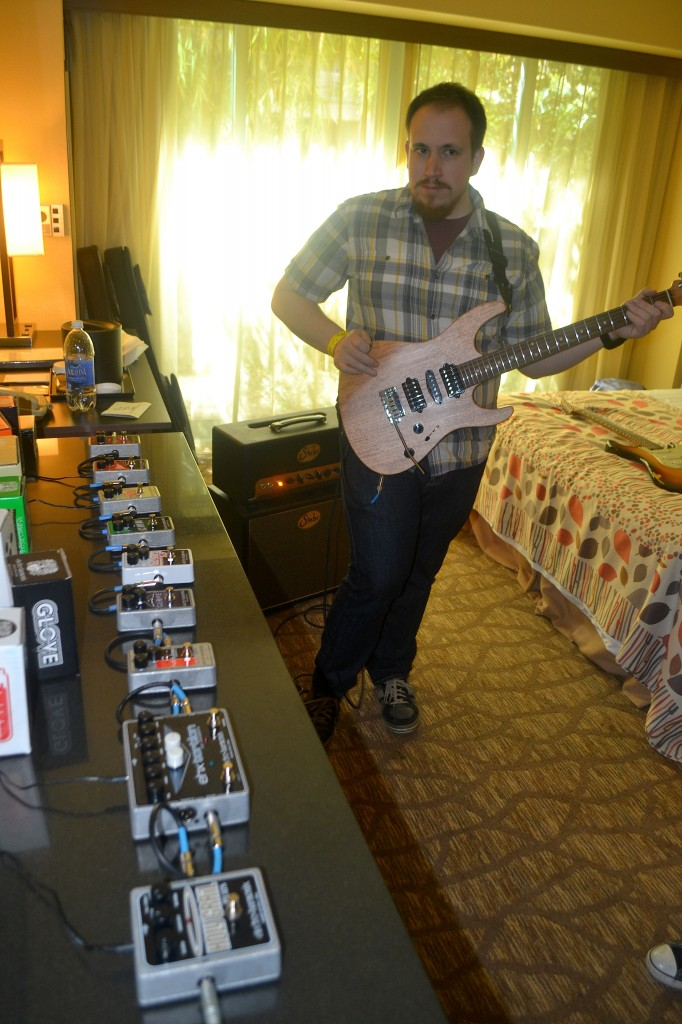 Electro-Harmonix's own Kevin Jolly.