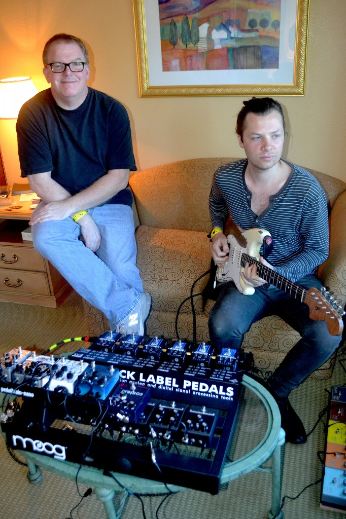 David Jenkins (left) and Owen Barry, of TrueTone.