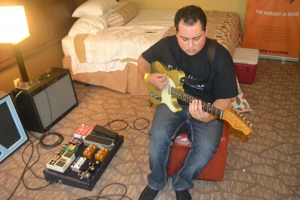 Jonathan Meleika, Oddfellow Effects, runs a board through its paces.