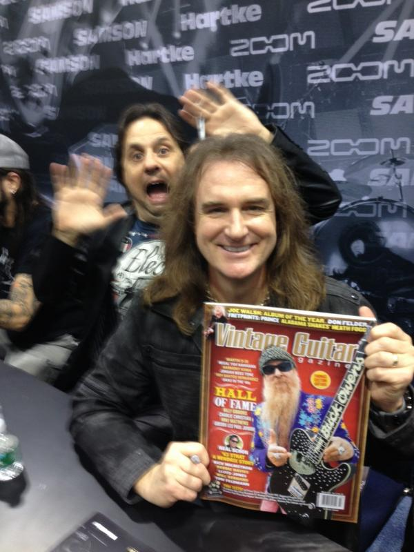 Dave Ellefson Bass Player for Megadeth with Dave Lombardo.